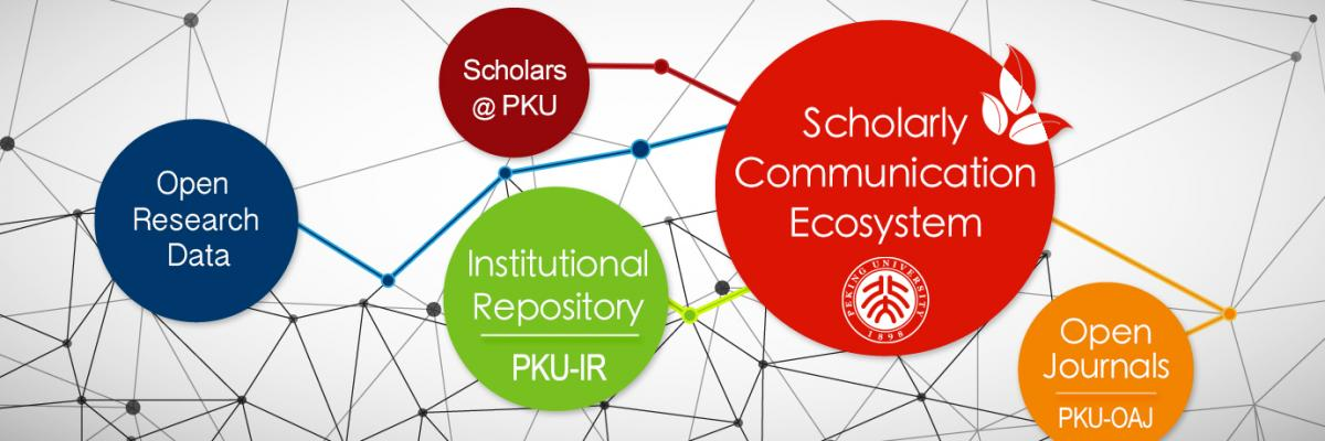 PKU Scholarly Communication Ecosystem